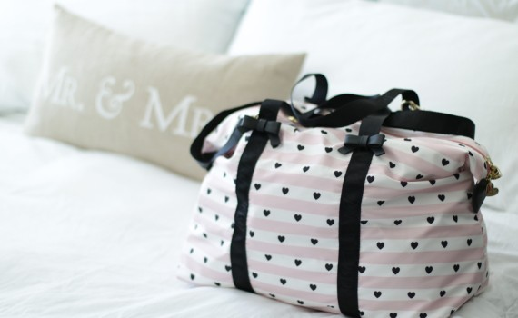 Away We Go Betsey Johnson Weekender Bag
