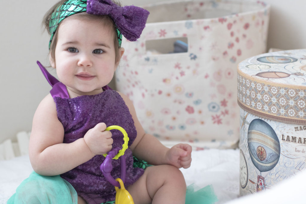 Baby's First Halloween Costume | The Little Mermaid | Lyla James
