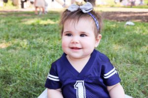Dallas Cowboys Bow Lucy Wynn Designs Lyla James