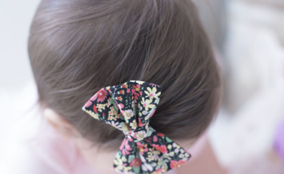 Lucy Wynn Designs Fall Floral Bow