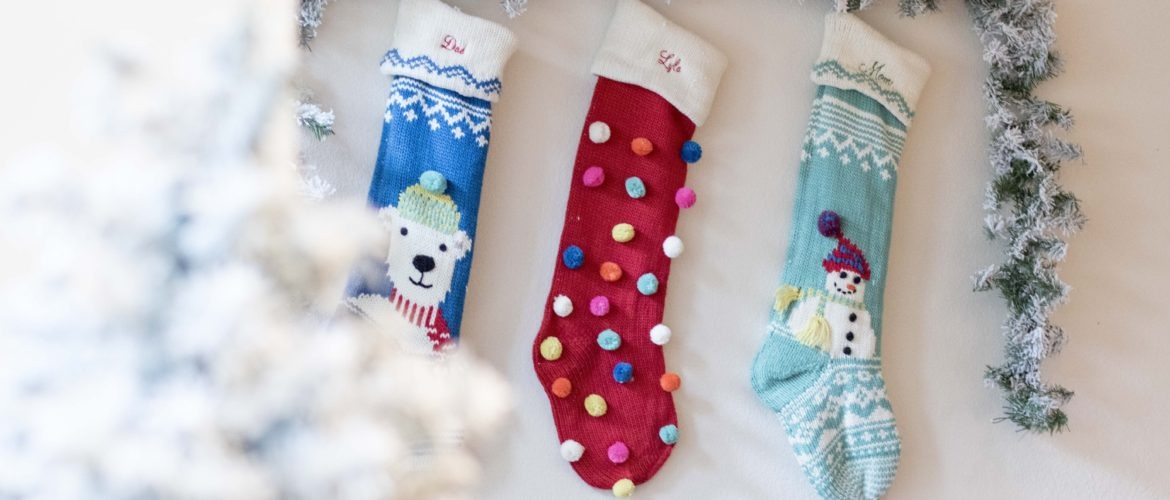 Pottery Barn Stockings Merry and Bright